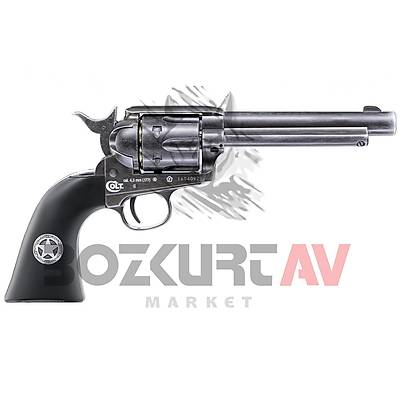 "Colt Single Action Army 45 Ranger Black 5,5"" Havalý Tabanca"