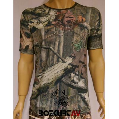 Loç Avcý Köpekli Kýsa Kollu T-Shirt