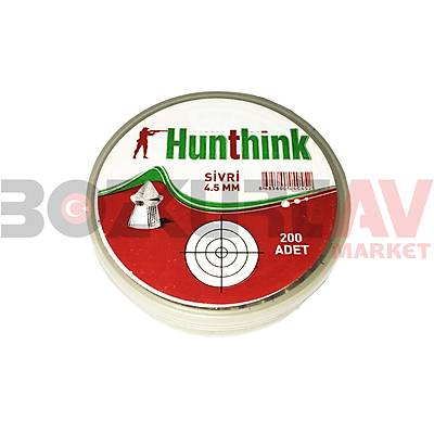 Hunthink 4,5 mm Havalý Tüfek Saçmasý (200 Adet)