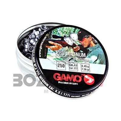 Gamo Pro Magnum 4,5 mm Havalý Tüfek Saçmasý (7,56 Grain - 250 Adet)