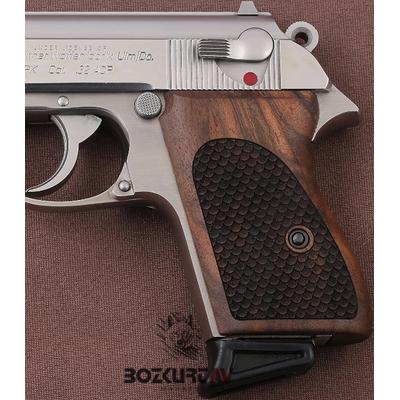 Walther PPK Ceviz Tabanca Kabzasý