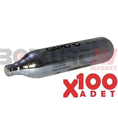 Gamo 12 Gram CO2 Havalý Tabanca Tüpü (100 Adet)