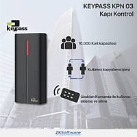 ZKSoftware Keypass KPN03-EM Manyetik Kart Anahtarlýk Okuyuculu Kapý Geçiþ Sistemi