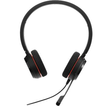 Jabra Evolve 20 Duo USB NC MS Kablolu Çaðrý Merkezi Kulaklýk