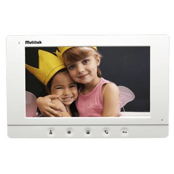 "Multitek MB-73 7"" LCD Dokunmatik Butonlu Daire Monitörü"