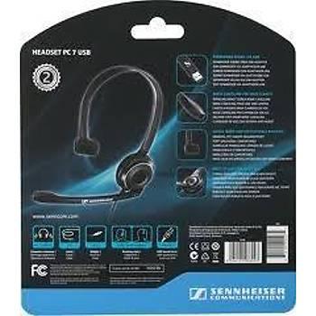 Sennheiser PC 7 USB Mikrofonlu VOIP Kulaklýk
