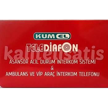 Kumel Telediafon Asansör,Vip Araç,Ambulans Telefonu Yeni Model