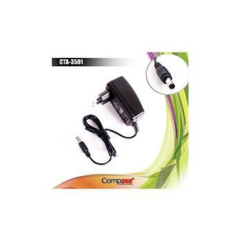 COMPAXE CTA-3501 12 Volt- 2 Amper  Adaptör 5'LÝ PAKET