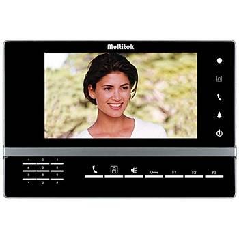 Multitek M70 LCD Renkli Görüntülü Monitör