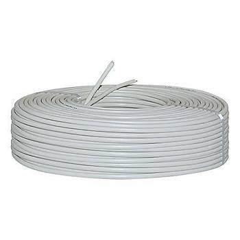 2'li TSN Yassý Kablo 100 Metre Gri