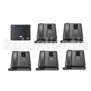 Gigaset Maxwell C 5 Dahili Analog & IP Kablosuz Telefon Santrali