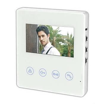 Multitek RL-B43M 4,3 inç LCD Renkli Görüntülü Daire Telefon Villa Set