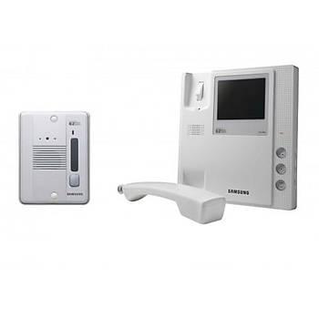 Samsung EZON 4'' SHT-4004 Siyah Beyaz Daire Telefon Villa Set