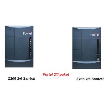 2 ADET Fortel Z206  SANTRAL  2 'LÝ KAMPANYA
