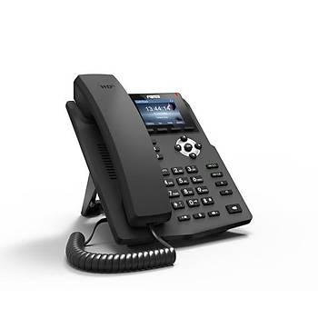 Fanvil X3SP (POE) Voýp Renkli Ekran Tuþlu IP Telefon (Adaptörlü)