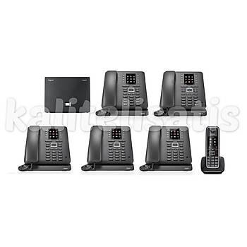 Gigaset Maxwell C 6 Dahili Analog & IP Kablosuz Telefon Santrali