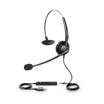 Yealink YHS33 USB Mono Mikrofonlu Çaðrý Merkezi Kulaklýðý
