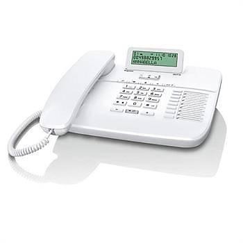 Gigaset DA710 Kablolu Masa Telefonu  (Beyaz)
