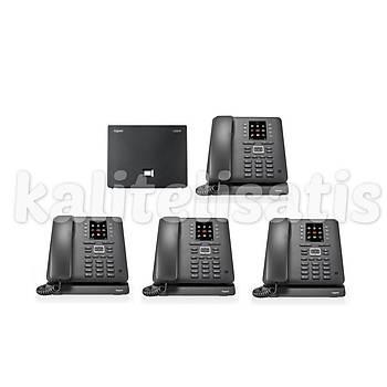 Gigaset Maxwell C 4 Dahili Analog & IP Kablosuz Telefon Santrali