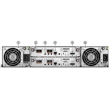HPE MSA Q1J03A 2052 SAN 800GB MU SSD DC SFF Storage