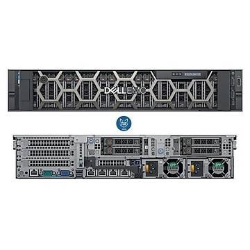 DELL SRV R740XD 2*Xeon Silver 4210 (10C/2.2Ghz) 256GB DDR4 8x960GB Samsung Enterprise SSD (18x3.5'') H730P/2G 4x1Gbe iDRAC9 Enterprise 2x750W RPS 2U Rack