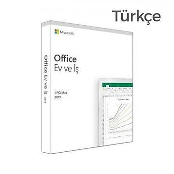 Microsoft Office 2019 TD5-03334 Home ve Business Türkçe Kutulu Ofis Yazýlýmý