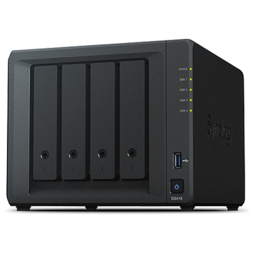SYNOLOGY 5x DS1019+(Plus) Celeron QC 1.5ghz 8gb 4x Glan 2x eSATA USB 3.0 Raid Nas Server (Disksiz) (70tb Kapasite)