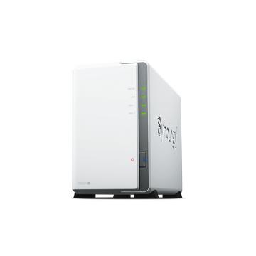 SYNOLOGY 2x DS220J Realtek QC 1.4ghz 512mb Glan USB 3.0 Raid Nas Server (Disksiz) (32tb Kapasite)