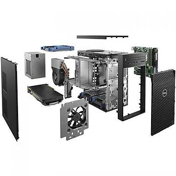 DELL WS ALFA T3630 E-2224 8G 1TB 2GB P400 W10P