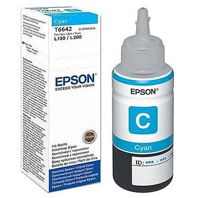 Epson T6642 Cyan Ink Kartuþ 70ml