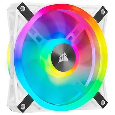 CORSAIR CO-9050105-WW QL140 RGB 140 MM DORT RGB RENK DONGULU BEYAZ PWM FAN