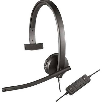 Logitech H570E USB Mono Mic. Kulaklýk  981-000571