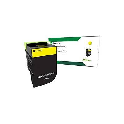 Lexmark 71B50Y0 CS/CX 317, 417, 517 Sarý 2300 Sayfa