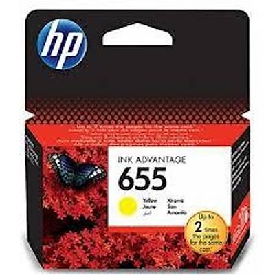 HP CZ112AE (655) SARI MUREKKEP KARTUSU 600 SAYFA