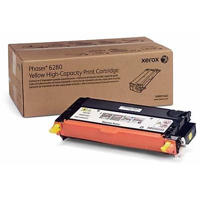 Xerox Phaser 6280 Yüksek Kapasiteli Sarý Toner (106R01402)