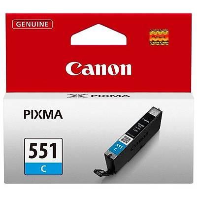 CANON 6509B001 CLI-551C Mavi Mürekkep Kartuþ