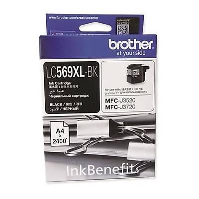 BROTHER LC569XLBK Çok Fonksiyonlu Renkli Yazýcý Kartuþu Siyah