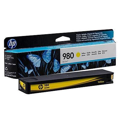 HP 980 Sarý Orijinal Mürekkep Kartuþu (D8J09A)