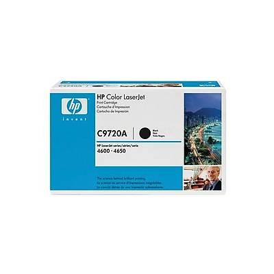 HP C9720A Black Toner Kartuþ (641A)