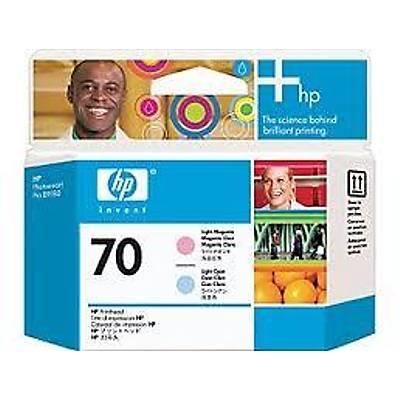 HP C9405A (70) ACIK MACENTA VE ACIK CAMGOBEGI BASKI KAFASI