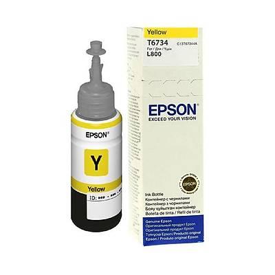 Epson T6734 Sarý Ink Kartuþ 70ml