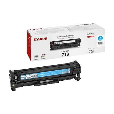 Canon CRG-718C Cam Göbeði Toner 2661B002