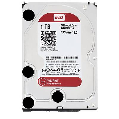 "WD WD10EFRX 1TB 3.5"" INTELLIPOWER 64MB SATA RED NAS HDD"