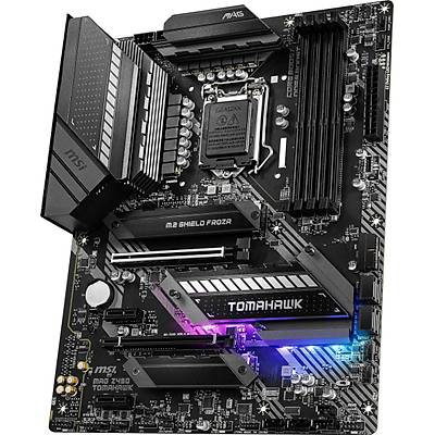 MSI MAG Z490 TOMAHAWK SOKET 1200 DDR4 4800 (OC) PCI-E Gen 4 ,M.2 USB3.2 RGB 1x 2.5G LAN + 1x 1G LAN ATX