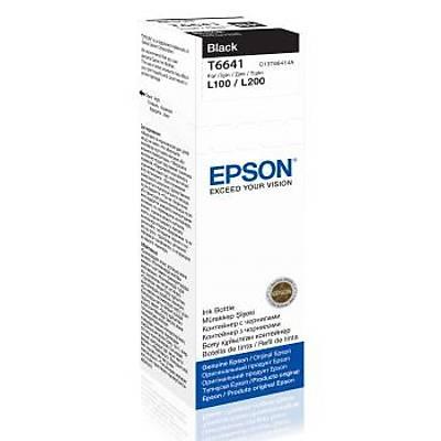 EPSON C13T66414A KARTUS-BLACK 70ML/L550/L200/L220/L3557/L365