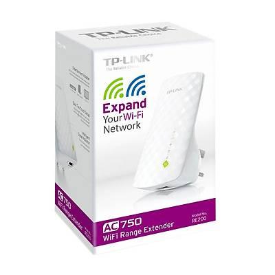 TP-LINK RE200 Kablosuz, 433Mbps 5GHz + 300Mbps 2.4GHz Menzil Geniþletici