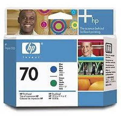 HP C9408A (70) MAVI VE YESIL BASKI KAFASI