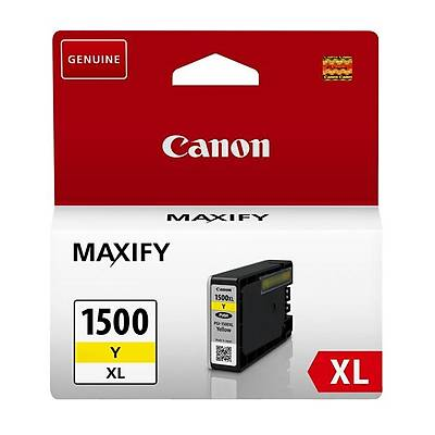 Canon PGI-1500XL Sarý Mürekkep Kartuþ 9195B001
