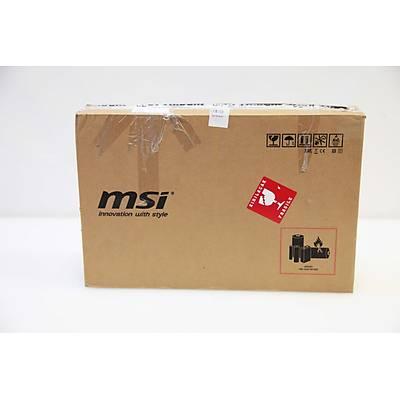 MSI NB GS63VR 7RF(Stealth Pro)-267XTR I7-7700HQ 16GB DDR4 GTX1060 GDDR5 6GB 128GB SSD+ 1TB 15,6 FHD DOS