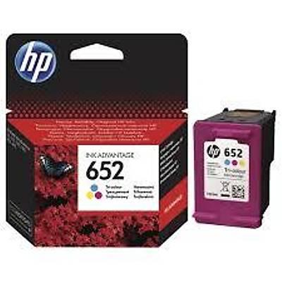 HP F6V24AE (652) Üç Renkli Mürekkep Kartuþu 200 Sayfa